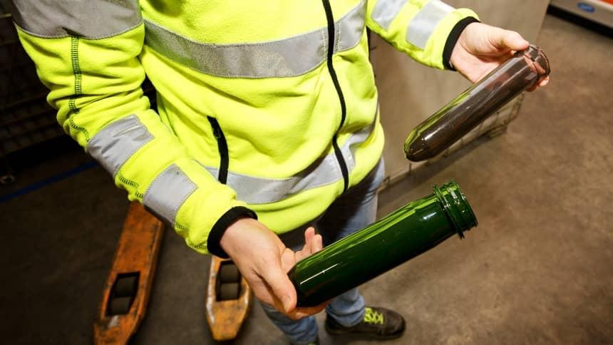 verpakking bier ab inbev duurzaam doorverpakken