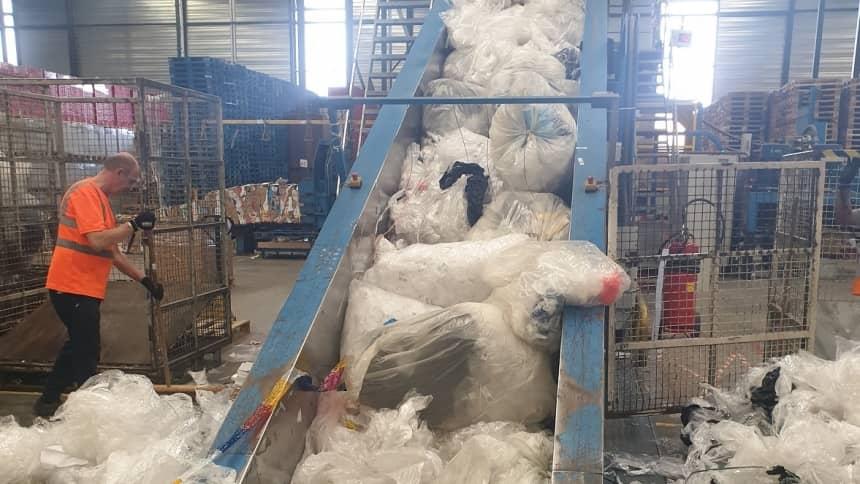RECYCLING as watson kruidvat rubriek duurzaam verpakken