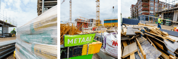 Heijmans bouw verpakkingen metaal bouwmateriaal rubriek duurzaam verpaken