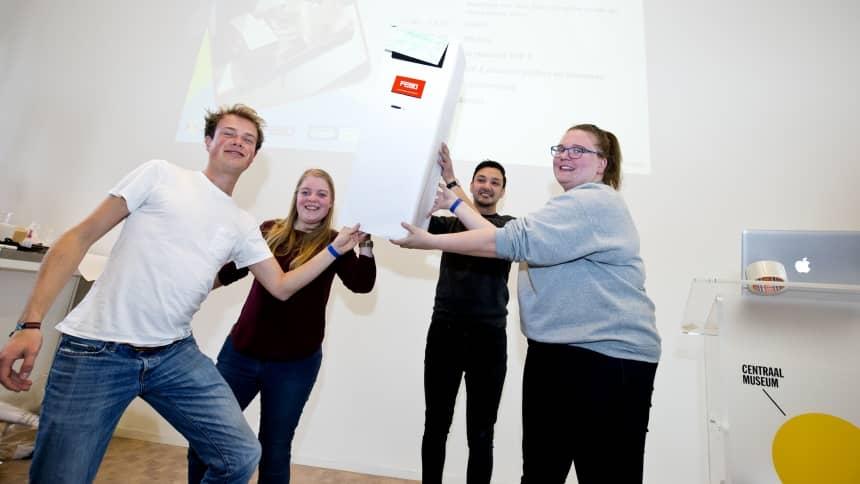 packathon winnaars febo duurzaam verpakken ontwerpwedstrijd kidv