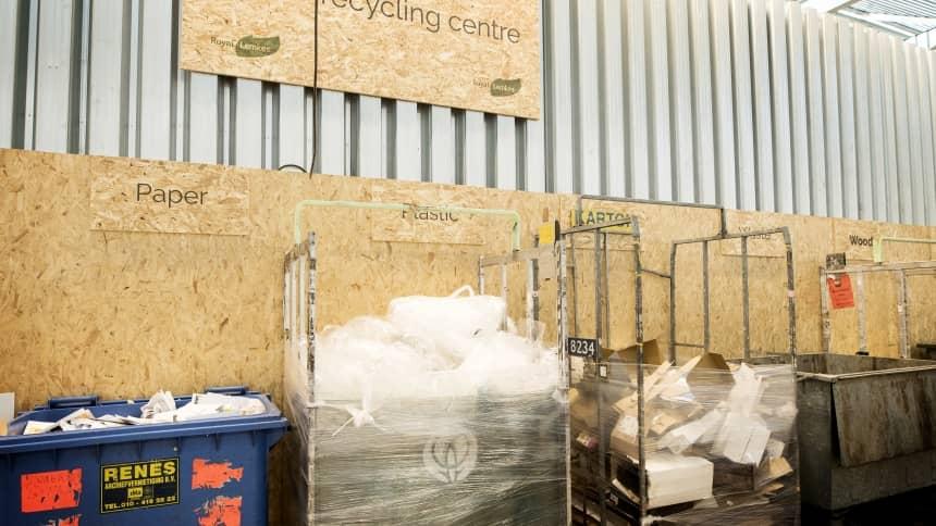 royal lemkes en van dijk flora kidv duurzaam verpakken kunststof verpakkingsafval als grondstof